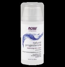 NOW Natural progesterone - Természetes progeszteron krém