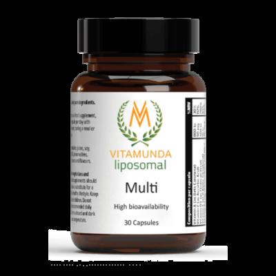 Vitamunda liposomal MULTI Liposzómás multivitamin és ásványi anyag komplex