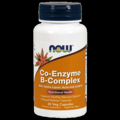 Now Co-Enzyme B-Complex - 60 Veg Capsules