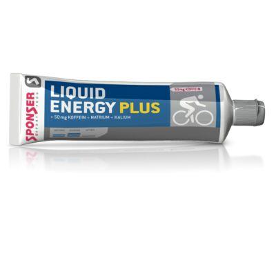 Sponser LIQUID ENERGY gél Plus 70g Méz