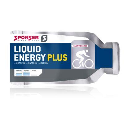 Sponser LIQUID ENERGY gél Plus 35g Méz