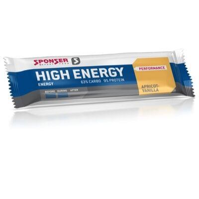 Sponser HIGH ENERGY 45g Sárgabarack/Vanília