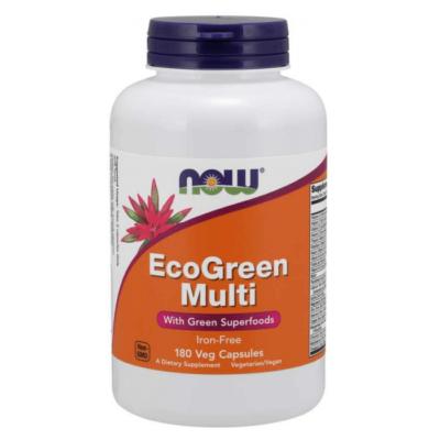 Now EcoGreen Multi Vitamin 180 Veg Capsules