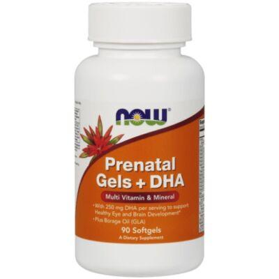 NOW Prenatal Gels + DHA 90 Softgels