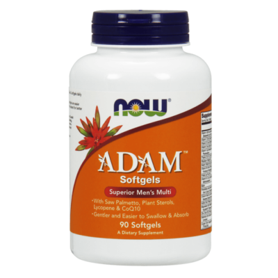Now Adam Men's Multiple Vitamin - 90 Softgels