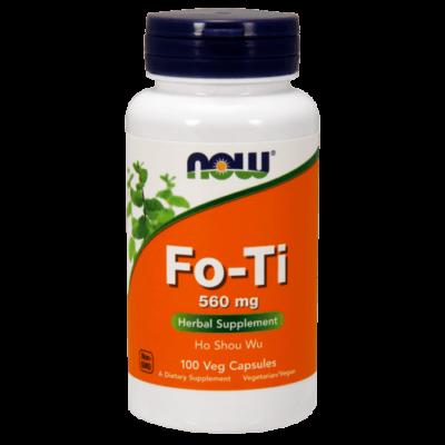 Now Fo-Ti 560 mg 100 kapszula