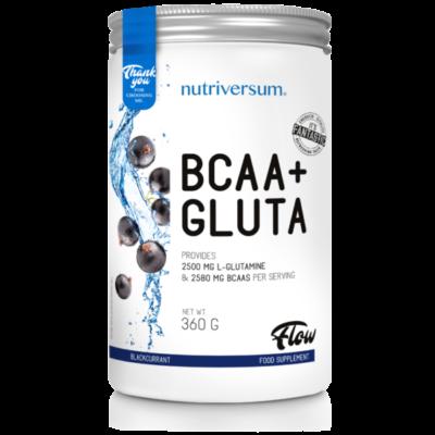 Nutriversum BCAA+GLUTA - FLOW -  Több ízben 360 g