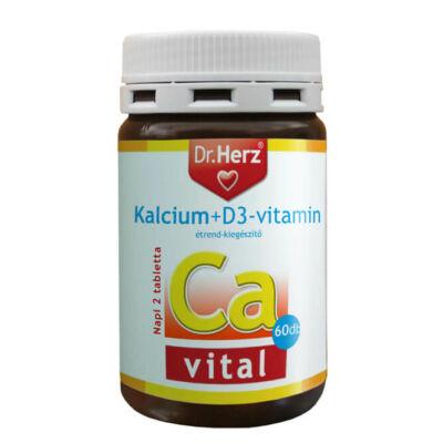 Dr. Herz Kalcium+D3 vitamin 60 db tabletta