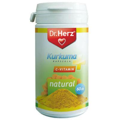 Dr. Herz Kurkuma+C-vitamin 60 db kapszula