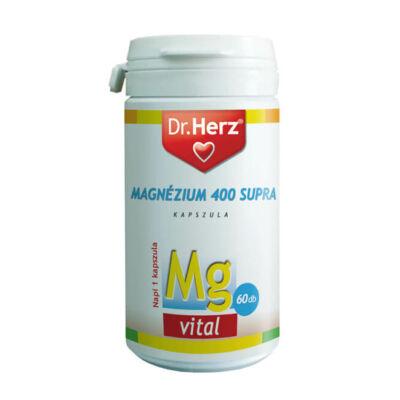 Dr. Herz Magnézium Supra 400mg 60 db kapszula