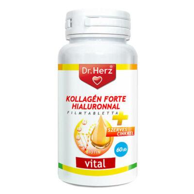Dr. Herz Kollagén Forte Hialuronnal 60 db tabletta
