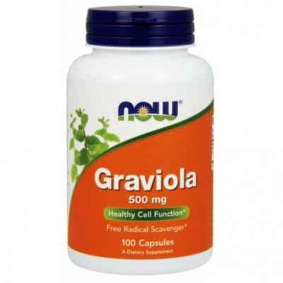 NOW Graviola 500mg (100 kapszula)