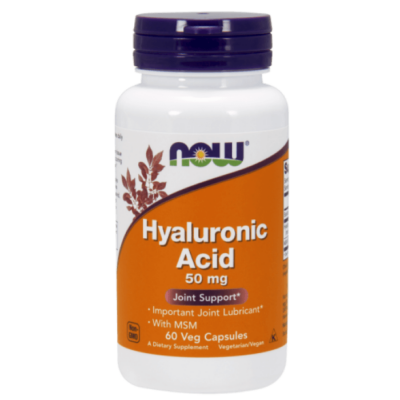 Now Hyaluronic Acid with MSM - 60 Vcaps®
