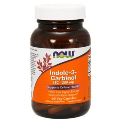 Now Indole-3-Carbinol (I3C) 200 mg.