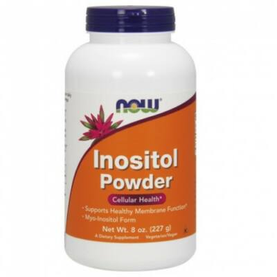 Now Inositol Powder Vegetarian - 8 oz. (226g) myo-inozitol