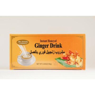Instant mézes gyömbér tea, kicsi 20db