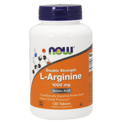 Now L-Arginine 1000 mg 120 Tablets