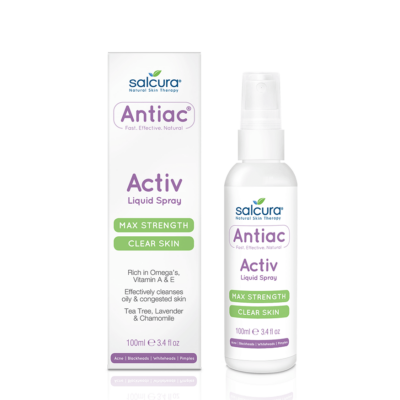 Salcura Antiac Activ Folyékony Tisztító Permet 100ml