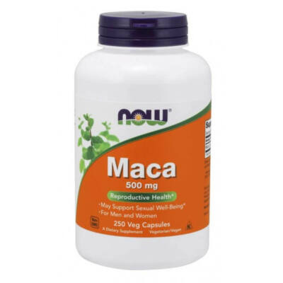 NOW Maca 500 mg - 250 Veg Capsules