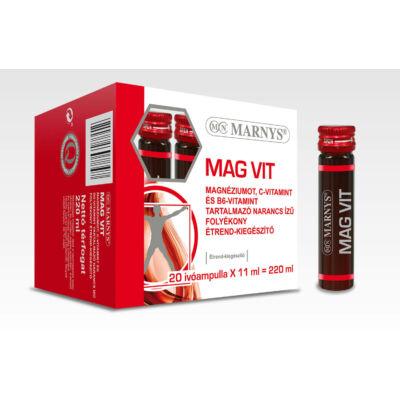 MARNYS MAG VIT MAGNÉZIUMOT, C-VITAMINT ÉS B6-VITAMIN