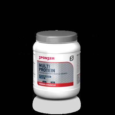 Sponser Multi Protein fehérjepor (850 g) - Eper