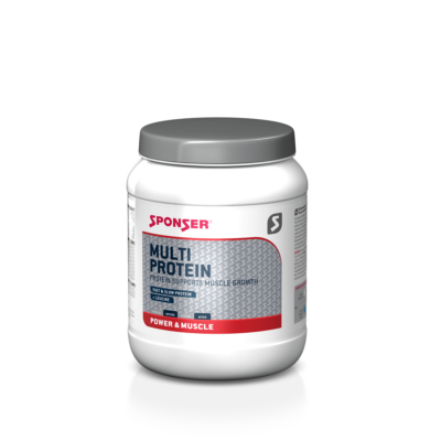 Sponser Multi Protein fehérjepor (425 g) - Eper