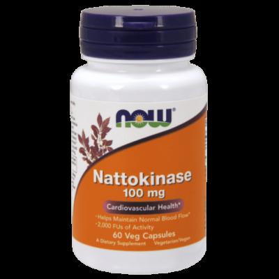 Now Nattokinase 100 mg - 60 Veg Capsules