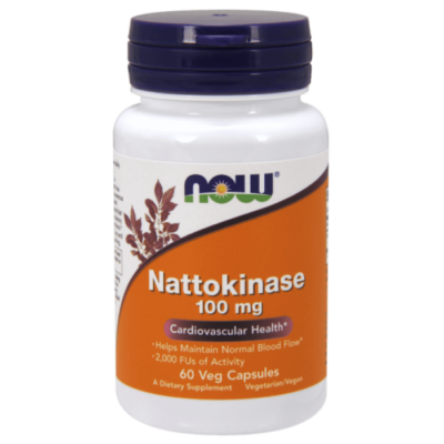 Now Nattokinase 100 mg - 60 Veg Capsules