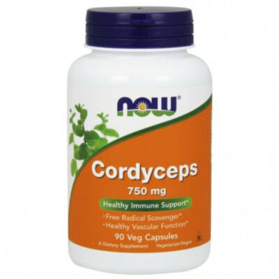 Now Cordyceps 750 mg - 90 Veg Capsules