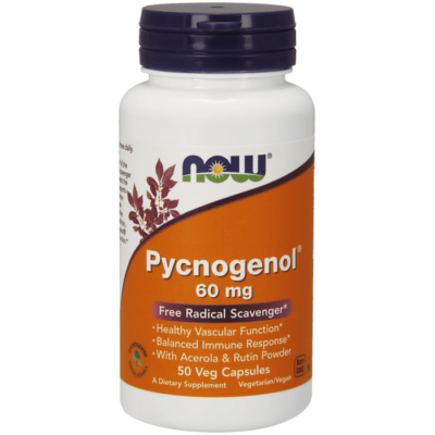 Now Pycnogenol® 60 mg - 50 Veg Capsules