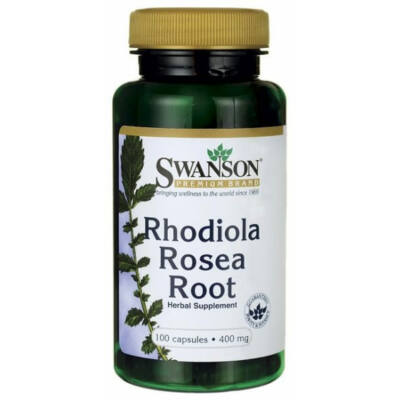 Swanson Rhodiola Rosea (aranygyökér) kivonat kapszula 100db