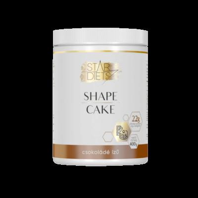 StarDiets Shape cake palacsintapor – csokoládé ízű 400 g