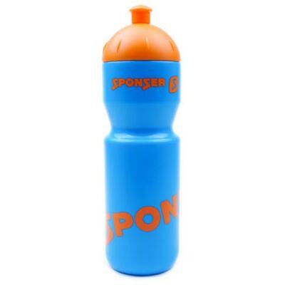 Sponser színes kulacs (750ml) - kék-narancs