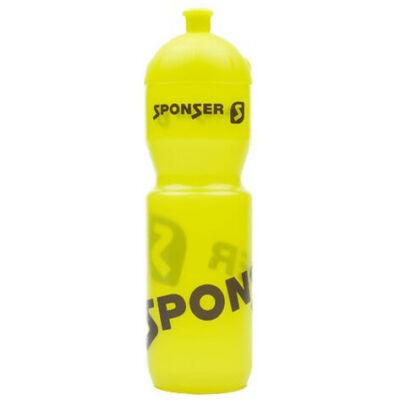 Sponser színes kulacs (750ml) - átlátszó sárga