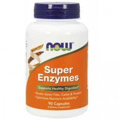 Now Super Enzymes - 90 Capsules
