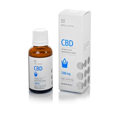 USA medical 1200 mg CBD emulzió - 30ml