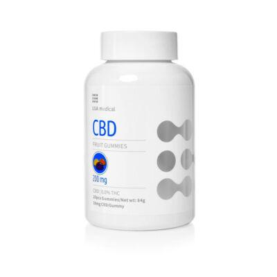 USA medical CBD gumipasztilla 150mg - 20 db