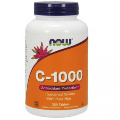 NOW C-1000 Sustained Release - 250 Tablets