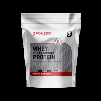 Sponser Whey Triple Source Protein fehérjepor (500g) - Vanília