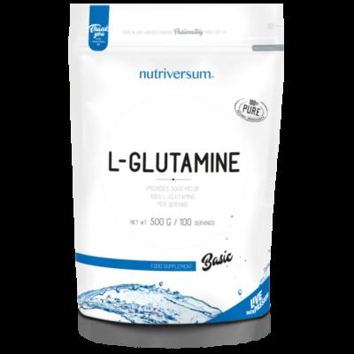 Nutriversum BASIC 100% L-Glutamine 500g
