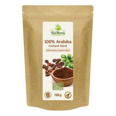 BioMenü BIO 100% Arabika instant kávé 100 g