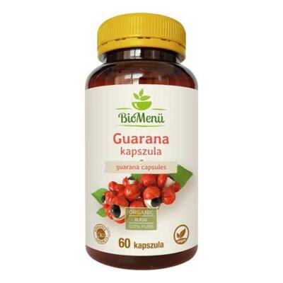 BioMenü BIO GUARANA kapszula 60 db