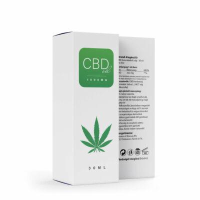 CBD Olaj Norvég 1000mg – 30 ml – 0% THC