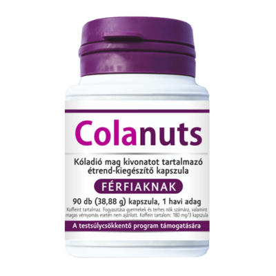 Colanuts kapszula 90db férfi - Kóladió kapszula