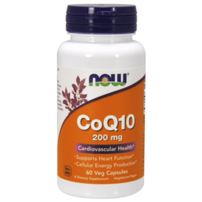 Now CoQ10 200 mg - 60 Veg Capsules