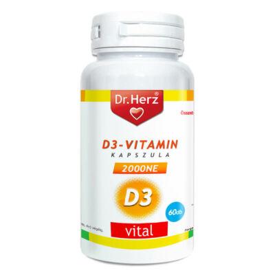Dr. Herz D3-vitamin 2000NE 60db kapszula
