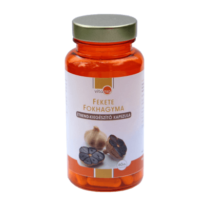 VitaMed Prémium Fekete fokhagyma kapszula 60 db
