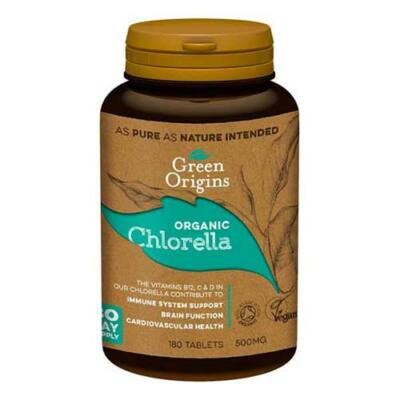 Green Origins BIO CHLORELLA alga tabletta 180 db