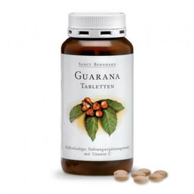 Sanct Bernhard Guarana 250 db tabletta