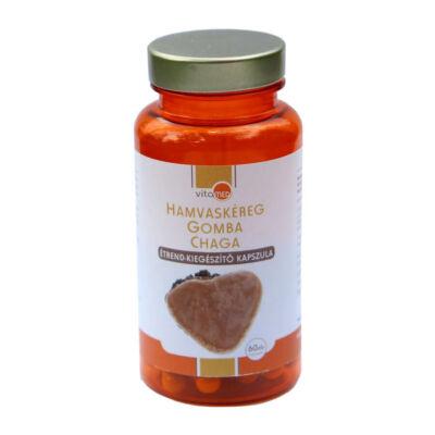 VitaMed Prémium Hamvaskéreg gomba chaga  60db.
